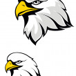 Eagle mascot — Stock Vector