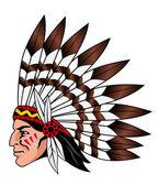 Native american — Stock Vector