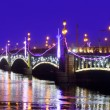Stock Photo: Night bridge