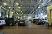 Garage di riparazione — Foto Stock