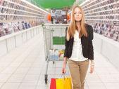 Supermarkt — Stockfoto