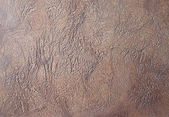 Grunge brown exposed concrete wall texture — Stock Photo
