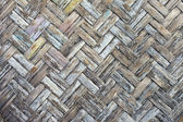 Olden Bamboo wood texture — Stock Photo