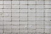белая кирпичная стена — Стоковое фото