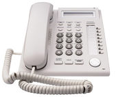 IP telephone front view — Stock Photo