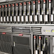 Stock Photo: Rackmount equipment