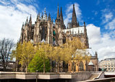 Cathedral of Cologne in Germany — Stock Photo