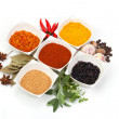 Variety of different spices — Stock Photo #8773379