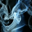 Smoke background for art design or pattern — Stock Photo