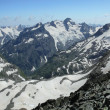 Stock Photo: Mountain range panorama