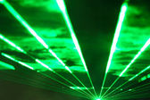 Laser show — Stock Photo