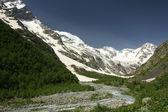 Mountain Tana on Caucasus — Stock Photo