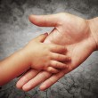 Father's hand — Stock Photo #10462366