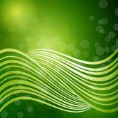 Green fantasy background — Stock Vector