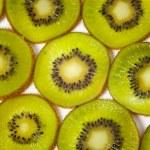 Pattern made of kiwi slices — Stock Photo