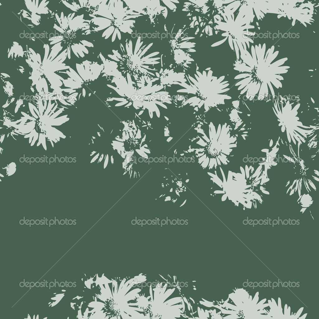 Seamless vector texture with flowers — Stock Vector #9380080