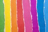彩色的纸 — 图库照片