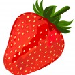Ripe red strawberries. - Stock Vector