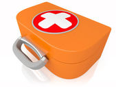 Medical first-aid set — Stock Photo