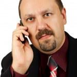 Serious businessman — Stock Photo #10476975
