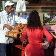 Selling Bagels in Izmir — Stock Photo #10161060