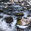 Mountain Stream and Boulders — Stock Photo