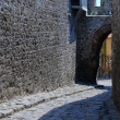 Cobbled Lane in Plovdiv — Stock Photo