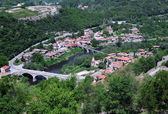 Bird View of Veliko Tarnovo — Stock Photo