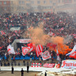 FC Spartak Fans In Action — Stock Photo