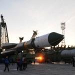 Progress Cargo Spacecraft Elevation — Stock Photo