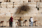 At the Wailing Wall — Stock Photo