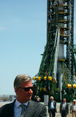 Crown Prince of Belgium Philippe At The Launch Pad — Stock Photo
