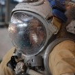 Постер, плакат: US Astronaut Michael Barratt After Training In The Russian Hydro