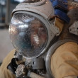 US Astronaut Michael Barratt After Training In The Russian Hydro — Stock Photo