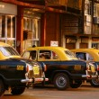Stock Photo: Taxi-stand in India
