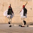 Guard at Parliament in Athens — Stockfoto #9279420
