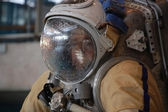 US Astronaut Michael Barratt After Training In The Russian Hydro — Foto Stock