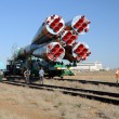 Soyuz Launch Vehicle Rollout — Stock Photo