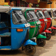 Three-wheelers - Stock Photo