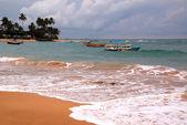 Hikkaduwa Beach in Sri Lanka — Stock Photo