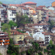 Congested Residential District of Veliko Tarnovo — Stock Photo