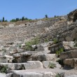 Fragment of Odeon of Ephesus — Stock Photo