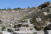 Fragment of Odeon of Ephesus — Stock Photo