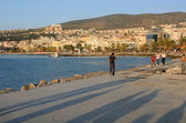 Town of Kusadasi in Turkey at Sunset — Stock Photo