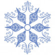 Isolated snowflake 01 — Stock Vector