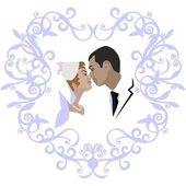 Wedding couple 07 — Stock Vector