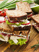 Sandwiches — Stockfoto