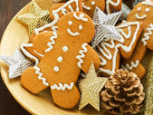 Gingerbread cookies — Stock Photo