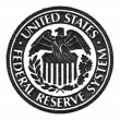 United States Federal Reserve System symbol. Macro. - Stock Photo