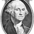 Portrait of president George Washington. — Stock Photo #8859689